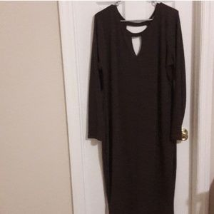 Brown Wet Seal Bodycon Dress
